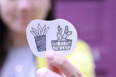 2-Plant Sticker