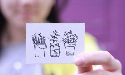 3-Plant Sticker