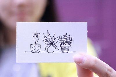 Plants On Shelf Sticker