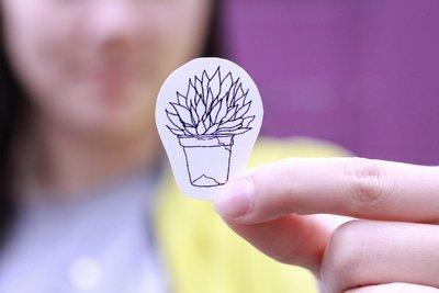 Simple Plant Sticker