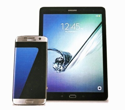 A5 Manual to accompany Samsung tablets &/or smartphones