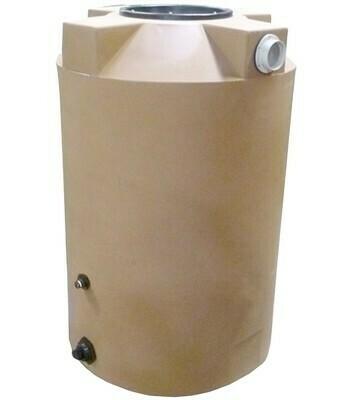 200 Gallon Rain Harvesting Tank with Sunshield