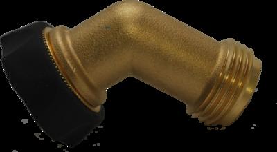 Brass Gooseneck Swivel Adapter