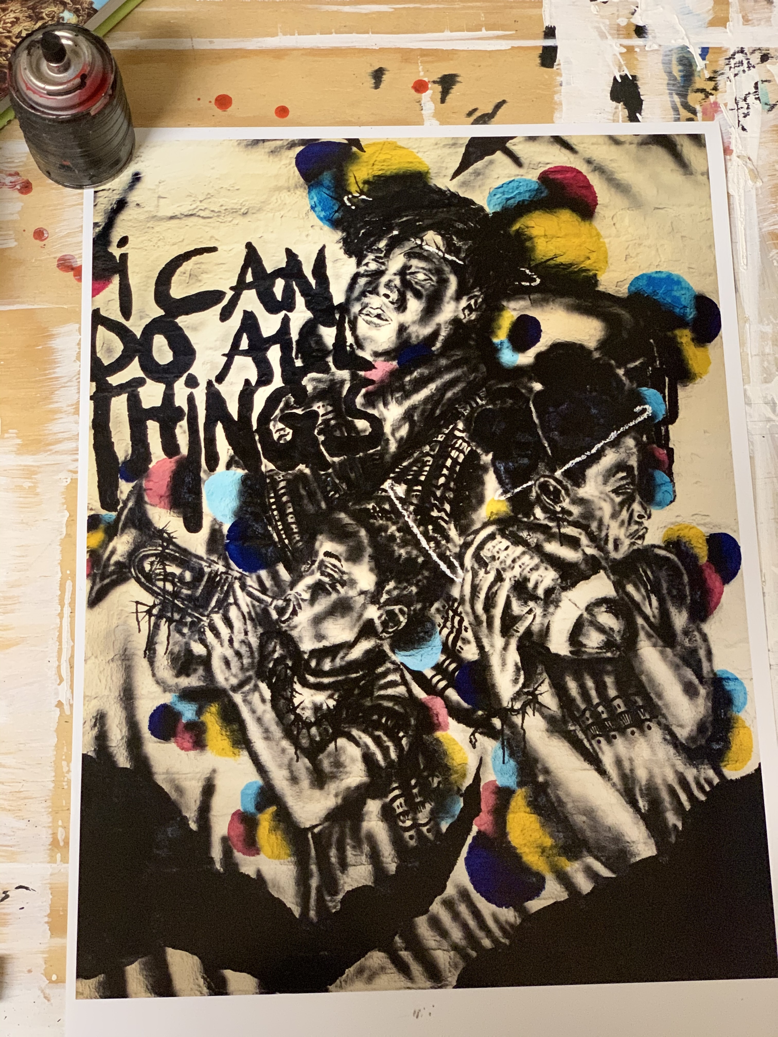 """"""" I Know I Can"""" Limited Edition Print 00000"""
