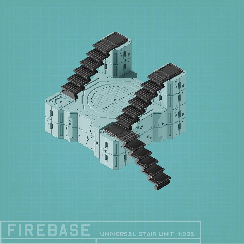 Firebase Stair Units (3)