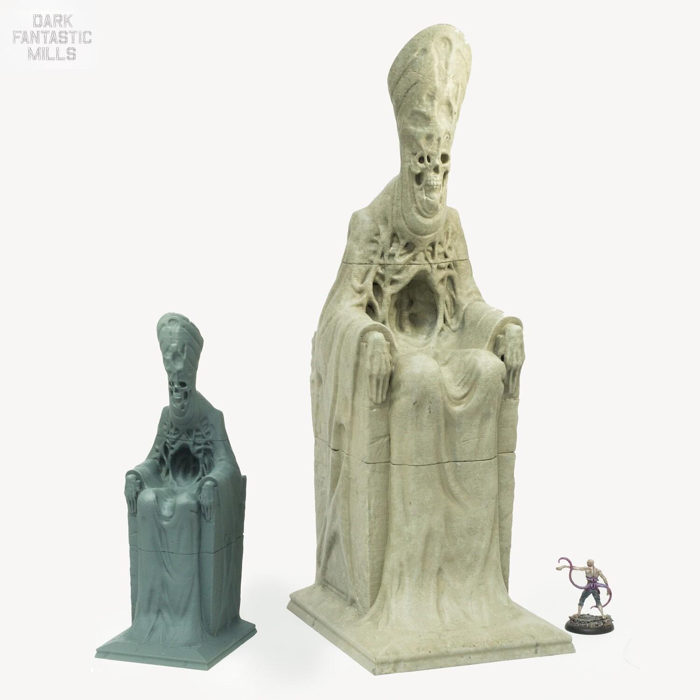 Necrosian Death Statue