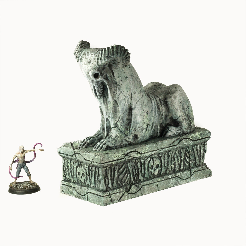 Necrosian Sphinx Statue