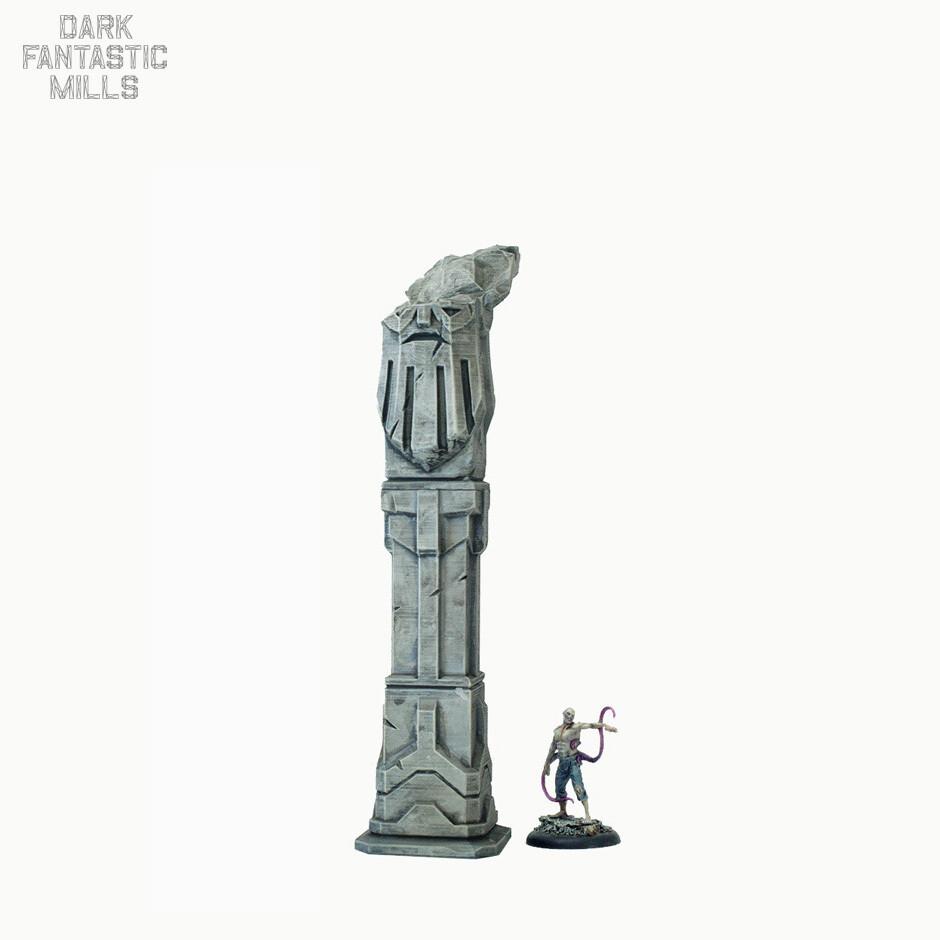 Ruined Dwarven Pillar