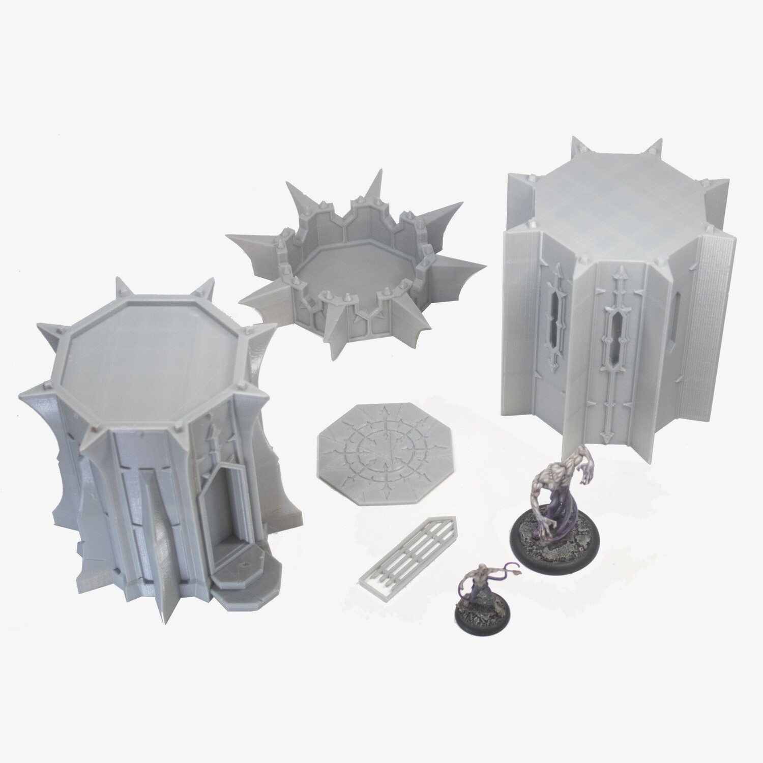 Chaos Blade Tower Parts