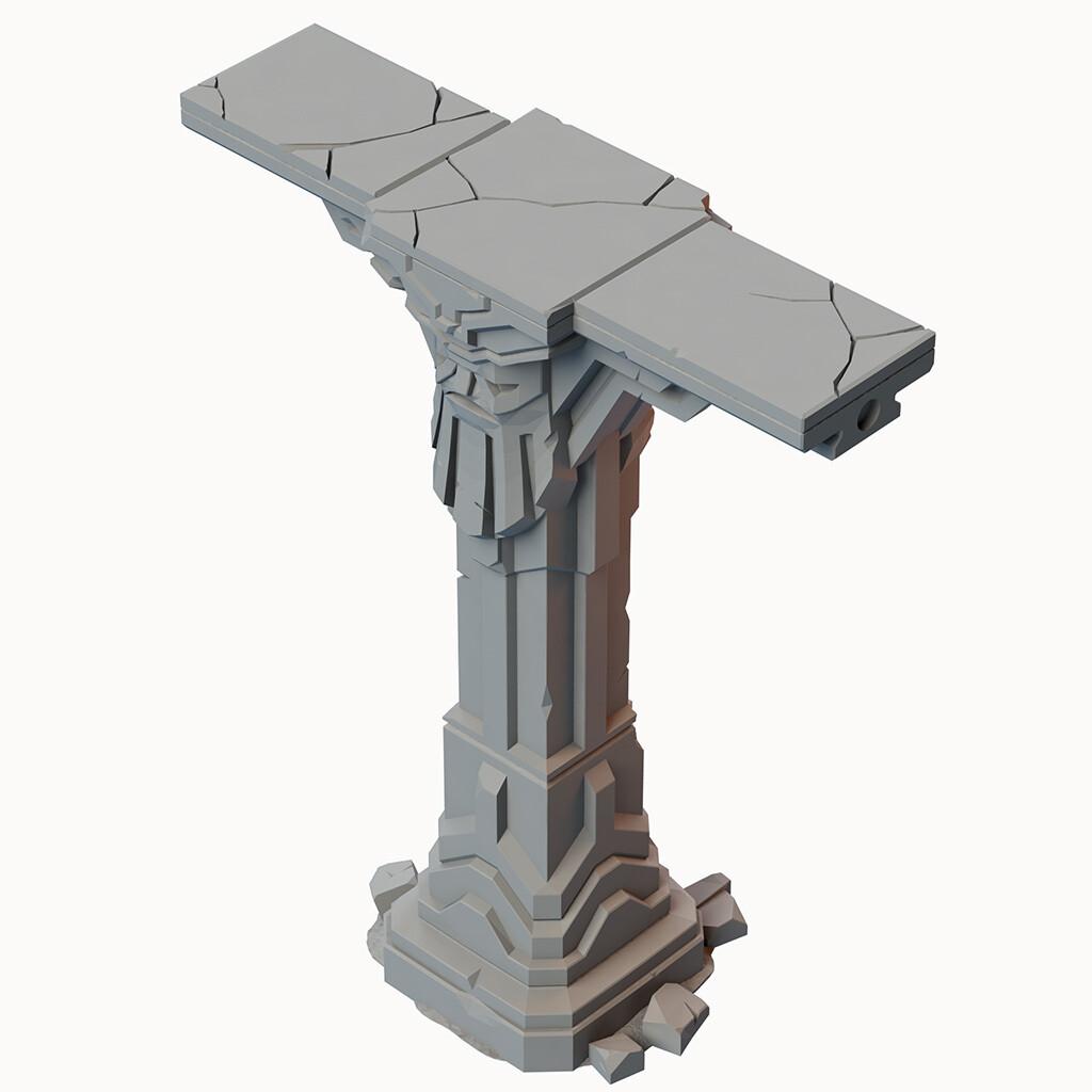 Fallen Empire High Pillar