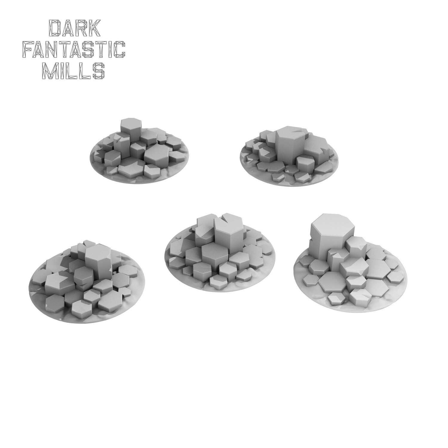 32mm Wyvern Waste Base Toppers,  Tall