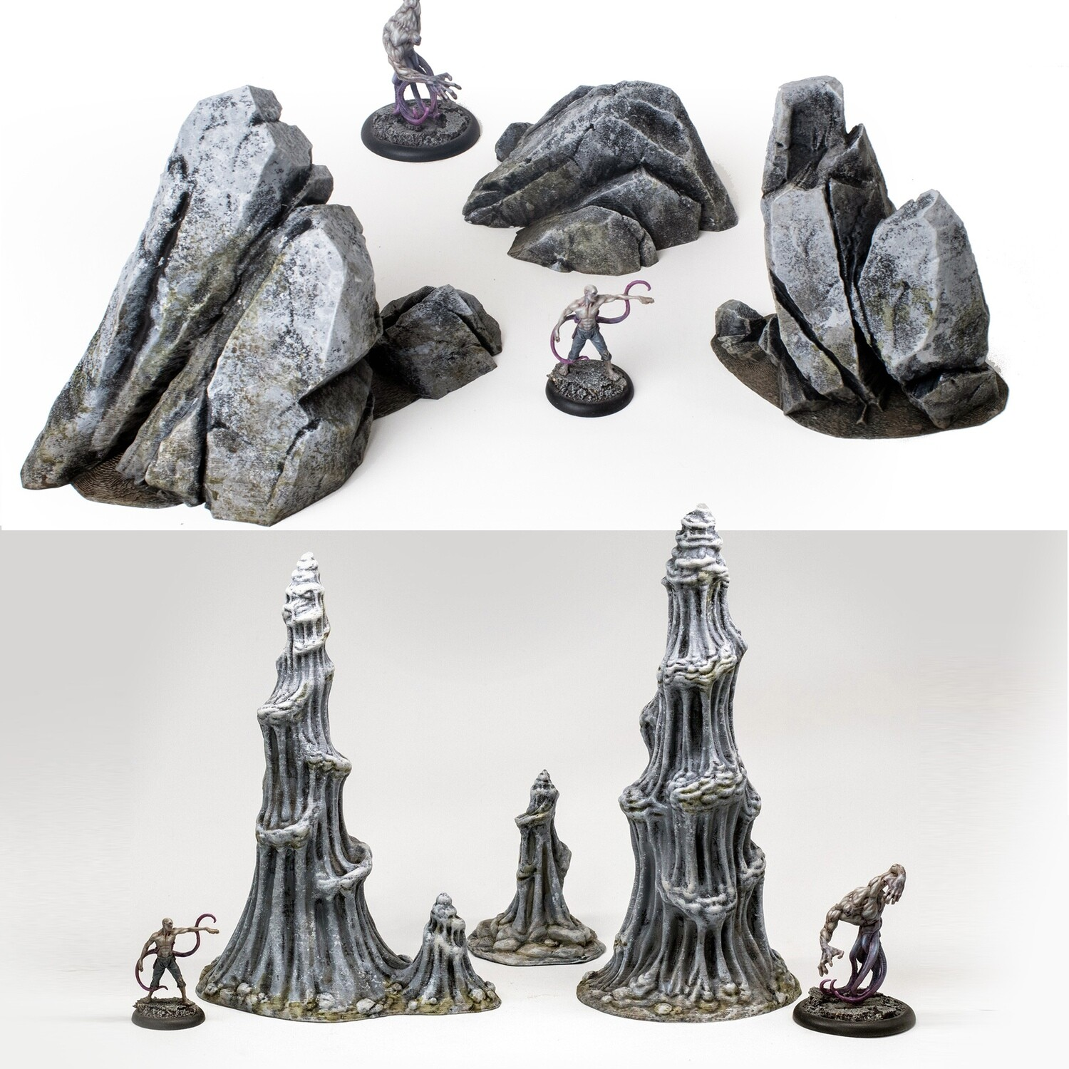 Rocky Outcrops and Stalagmites Bundle
