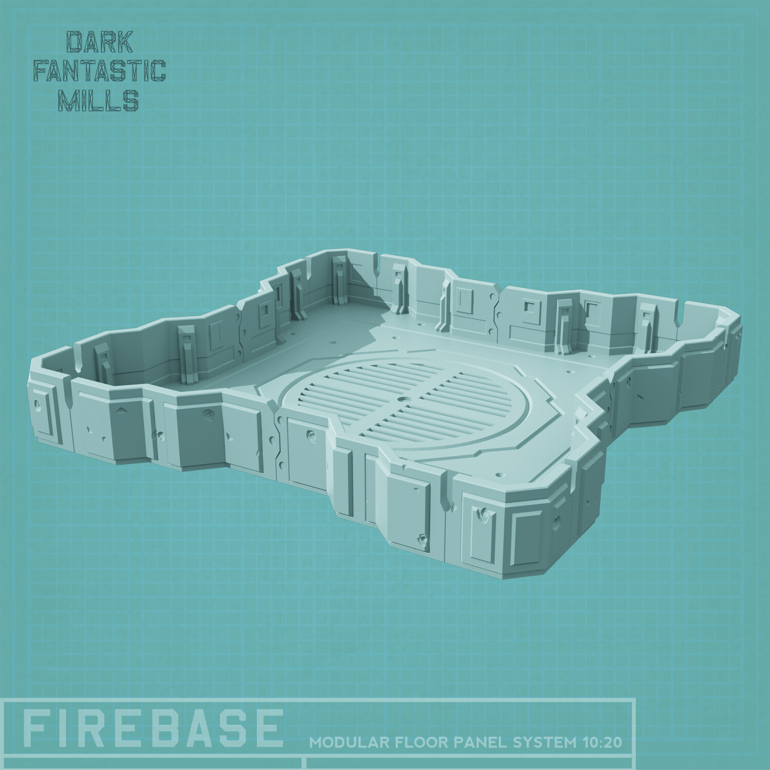 Firebase Roof With Walls