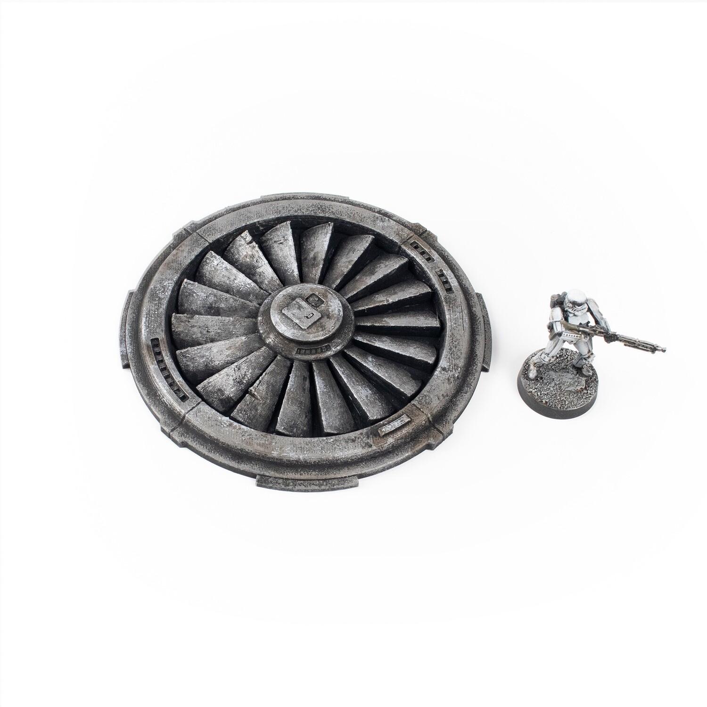 Firebase Silo Fan