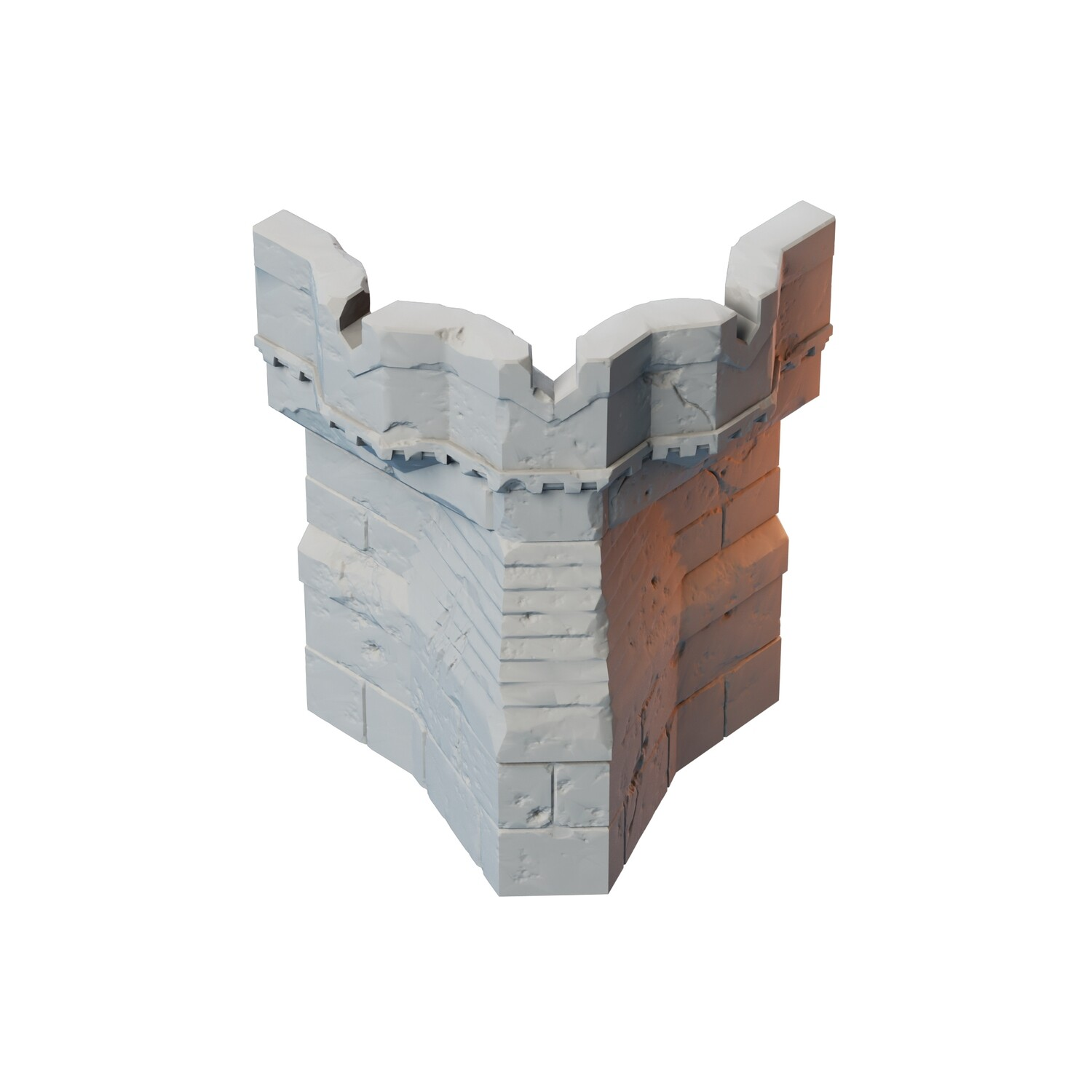Stronghold Outer Corner Wall