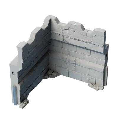 Stronghold Inner Wall Corner