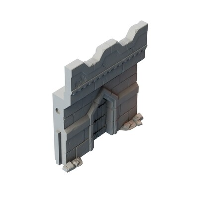 Stronghold Wall with Door