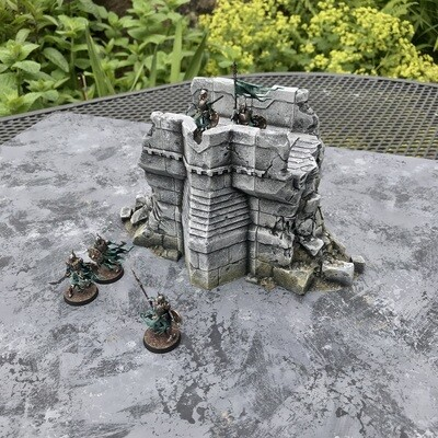 Stronghold Small Ruined Wall - save 20%!