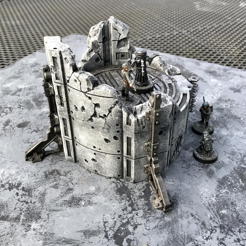 Firebase:Invasion Ruined Silo