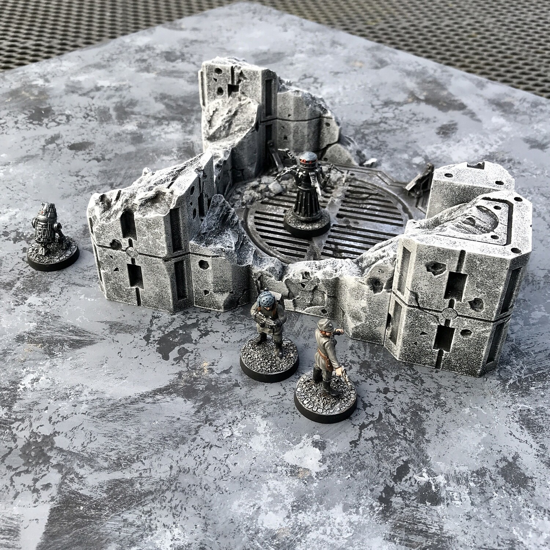 Firebase:Invasion Ruined Bunker