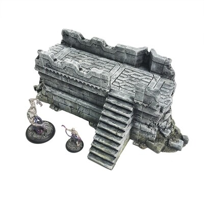 Stronghold Medium Ruined Wall - save 30%!