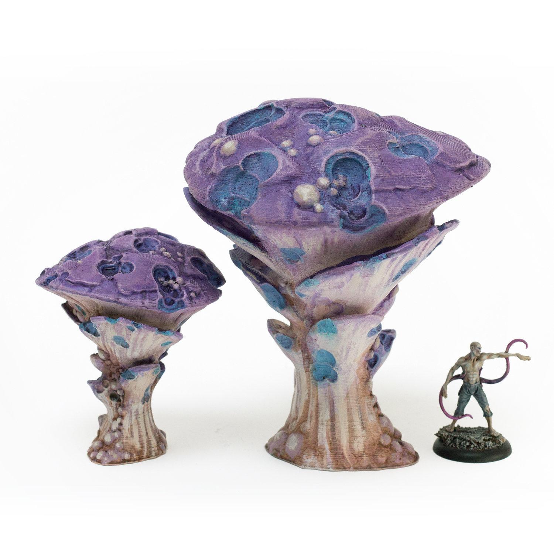 Doomcap Rot Gillshroom, Set of Two
