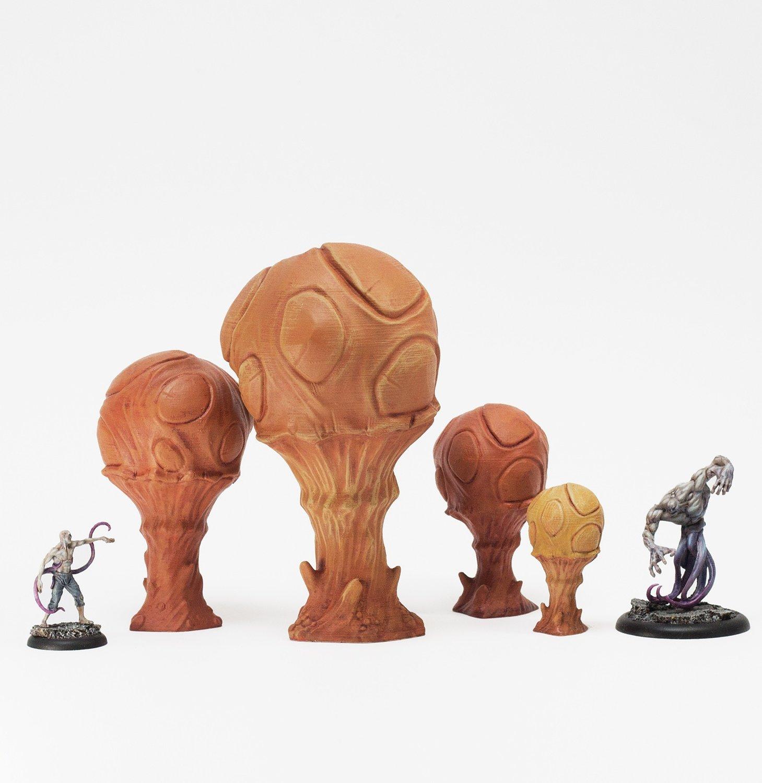 Doomcap Sporeballs, Set of 4