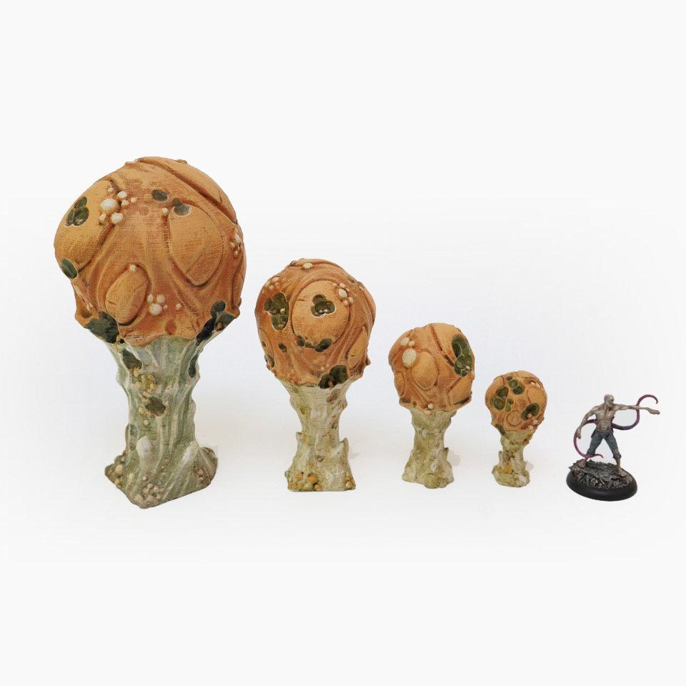 Doomcap Rot Sporeballs, set of 4