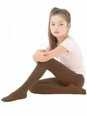 Girls SuperSoft  Cotton Rich Tights  School Dance Ballet Top Quality Tights