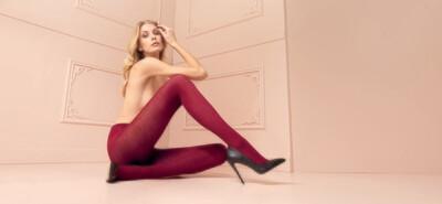 Jennifer 100 Denier Merino Wool Tights
