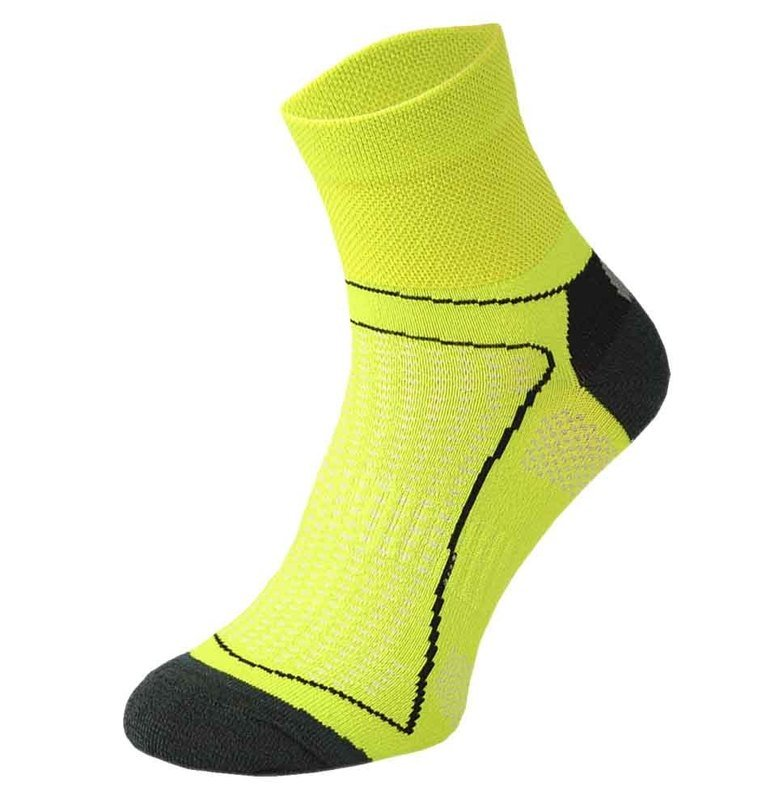 Yellow Cycling Socks