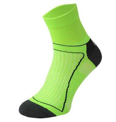 Green and Black Cycling Socks