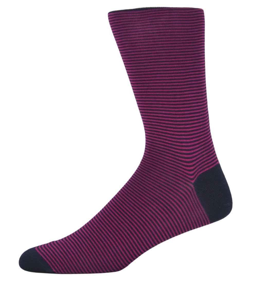 James Berry Fine Striped Socks