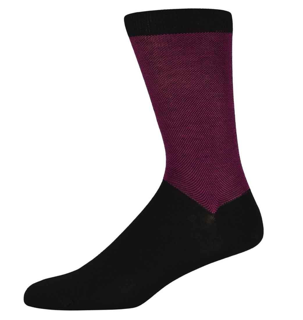 Richard Berry birdseye top & tail socks