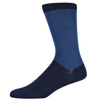 Richard Blue birdseye top & tail socks