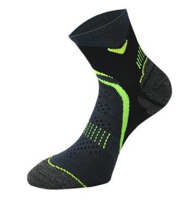 Black and Green Running Socks