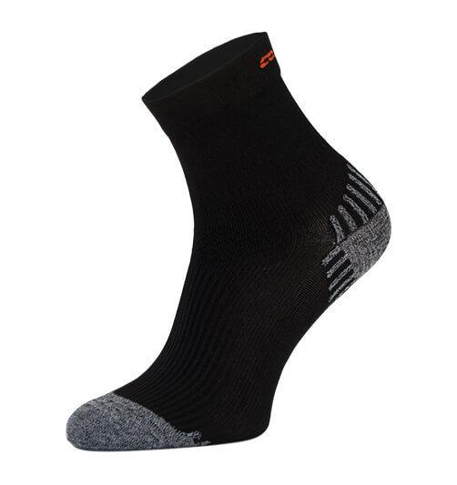 Black Compression Running Socks