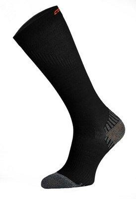 Black Long Compression Running Socks