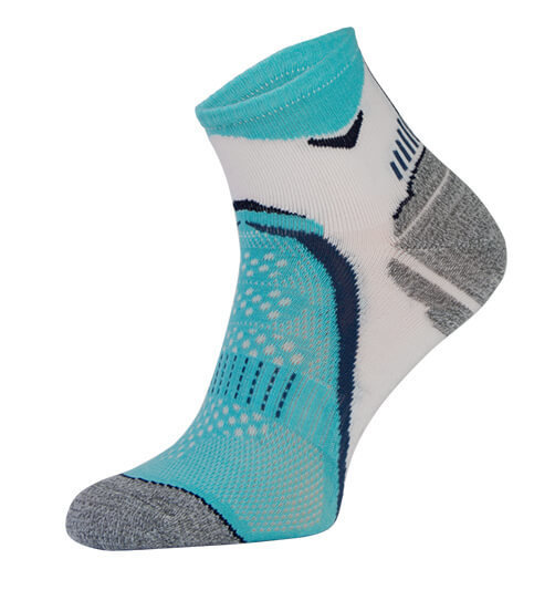Blue Arch Support Running Socks