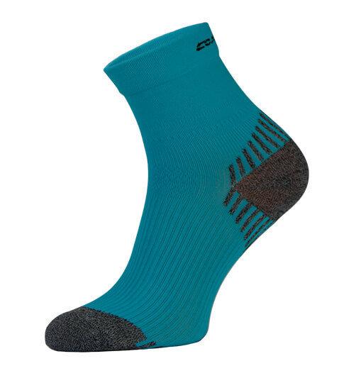 Blue Compression Running Socks