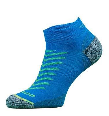 Blue Reflective Running Socks