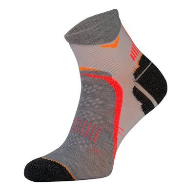Grey Arch Support Running Socks