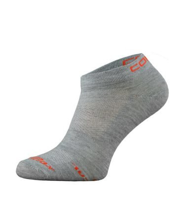 Grey Ultra Coolmax Running Socks