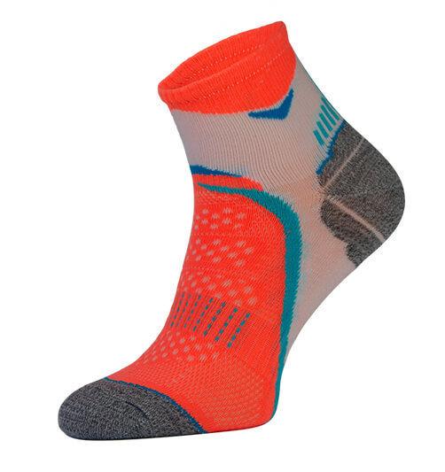 Orange Arch Support Running Socks