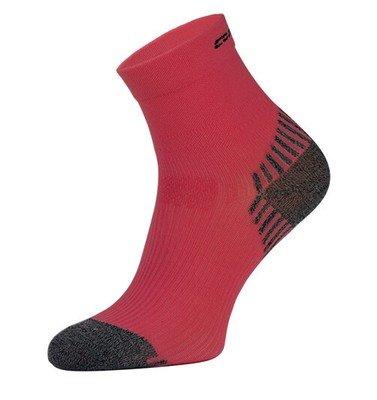 Red Compression Running Socks