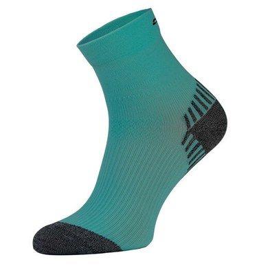 Teal Compression Running Socks