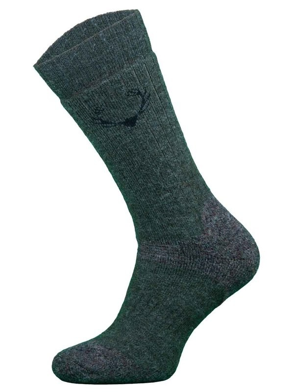 Khaki Merino Wool Heavyweight Shooting Hunting Socks