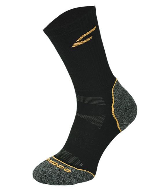 Black and Orange Trekking Performance Socks