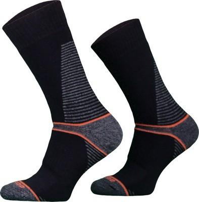 Black CLIMACONTROL Performance Hiking Socks