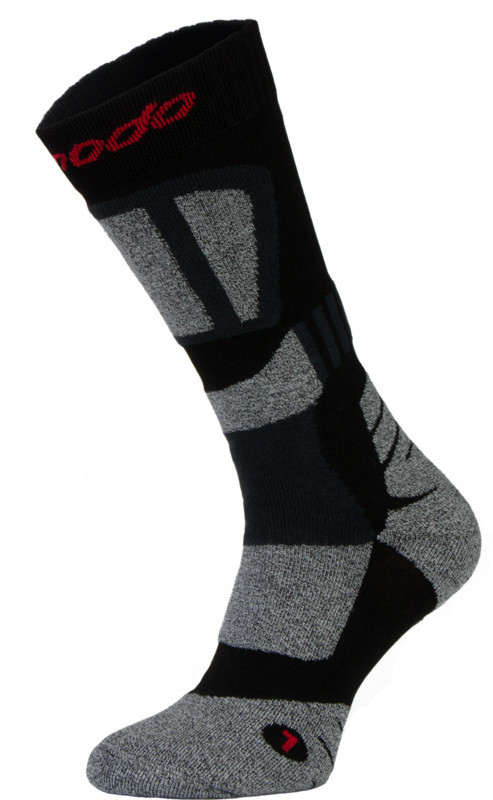 Black with Grey Drytex Trekking Socks